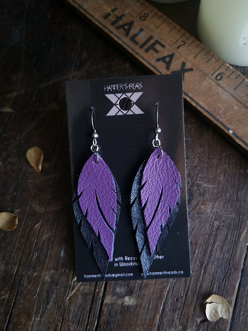 Feather Earrings | Hammerthreads