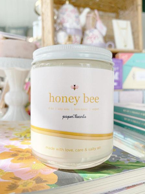 Honey Bee Candle | Halifax Paper Hearts
