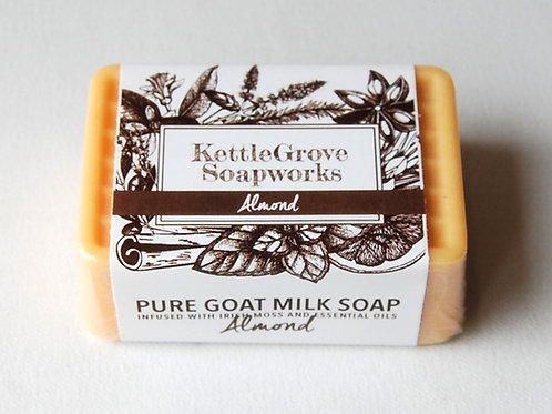 Almond Goat Milk Soap | Kettlegrove Soapworks