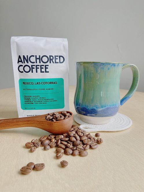 The Coffee Addict | Kym's Pottery | Gift Set