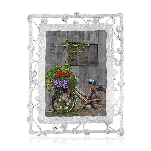 Daisy Picture Frame | Amos Pewter
