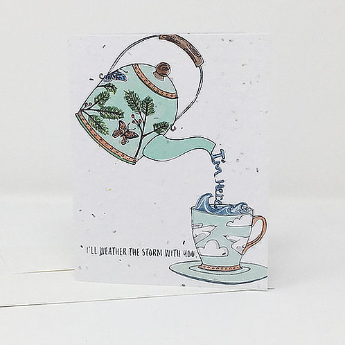I'm Here- Wildflower Seed Card   Jill + Jack Paper