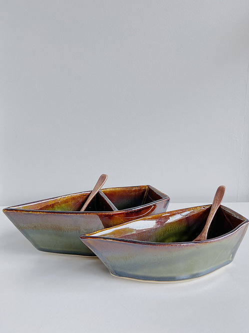 Marshland Dory Serving Dish | Sea Winds Pottery