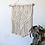 Thumbnail: Intricate Cream Macrame Wall Hanging | String Theories Fiber Design