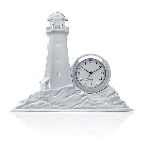 Peggy's Cove Lighthouse Clock | Amos Pewter