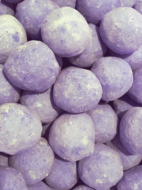 Lavender Bath Bombs | The Soapbox Soap Shoppe
