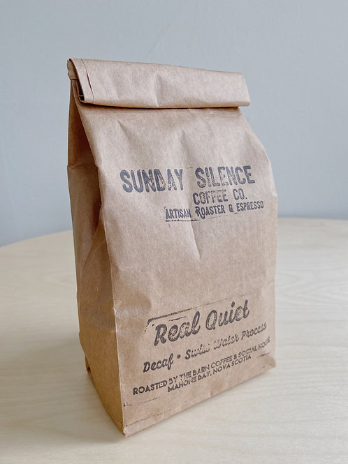 Real Quiet- Decaf Coffee | Sunday Silence Coffee Co.