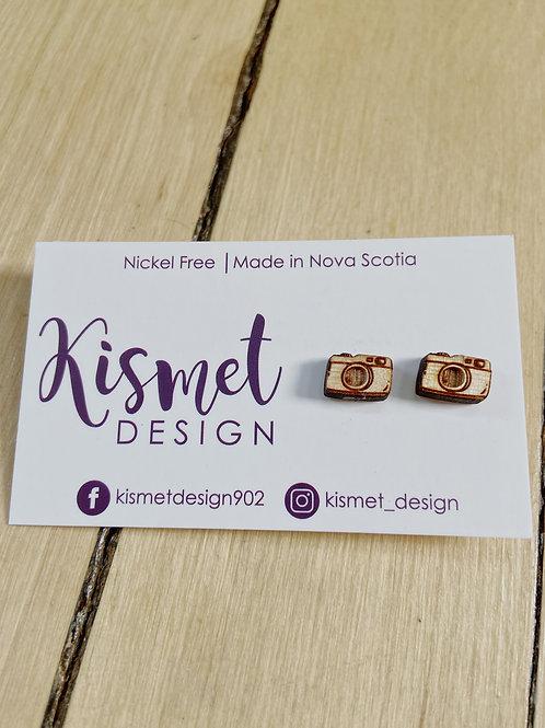 Camera Earrings | Kismet Design