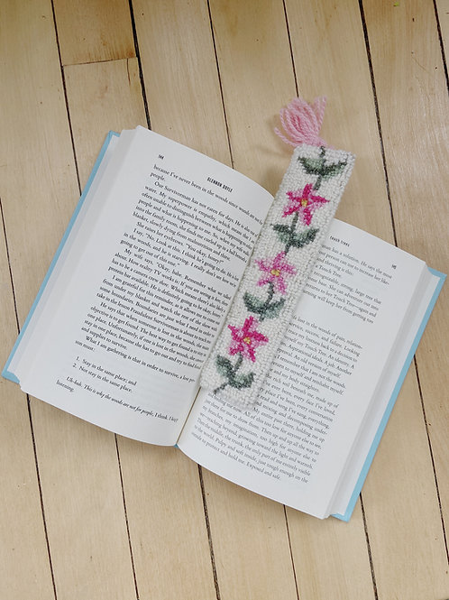 Mayflower Bookmark | Cheticamp Rug Hooking