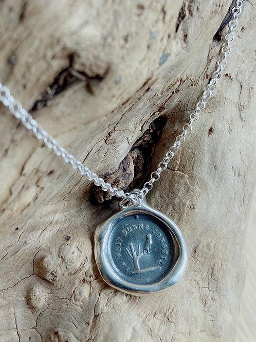 Owl Silver Necklace | Wisdom | Plum + Posey