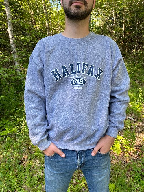 Grey Halifax Sweatshirt   Tall Ships Trading Co.