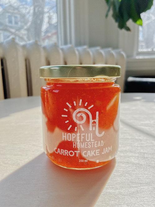 Carrot Cake Jam | Hopeful Homestead