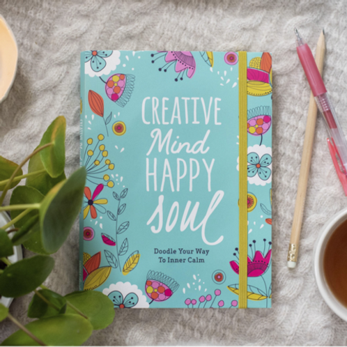 Creative Mind Happy Soul Journal | Doodle Lovely