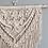 Thumbnail: Cream Detailed Macrame Wall Hanging | String Theories Fiber Design