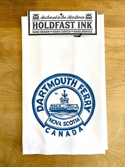 Dartmouth Ferry Tea Towel | Holdfast Ink