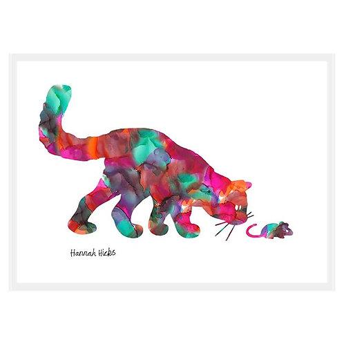 Cat + Mouse Card | Hannah Hicks
