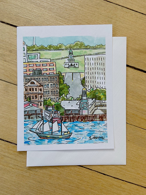 Halifax Waterfront Card | BardBardBard