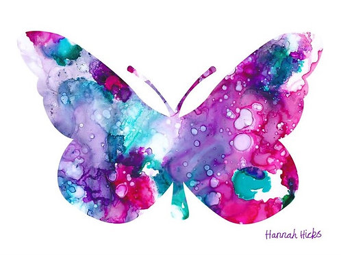 Butterfly Card | Hannah Hicks