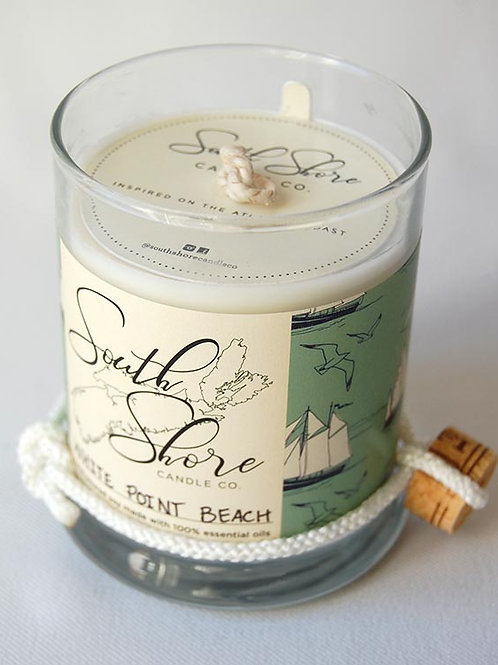 White Point Beach Candle (Vanilla) | South Shore Candle Co.