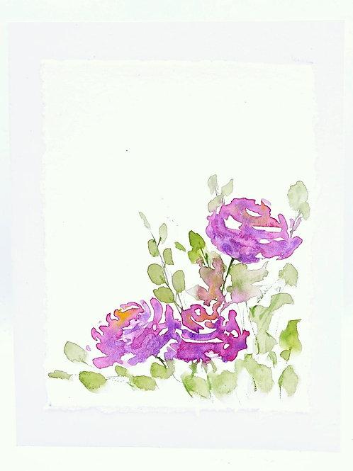 Roses- Card   Irony Arts