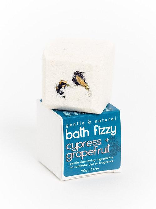 Bath Fizzy | Energizing Cypress + Grapefruit | Verv Skin