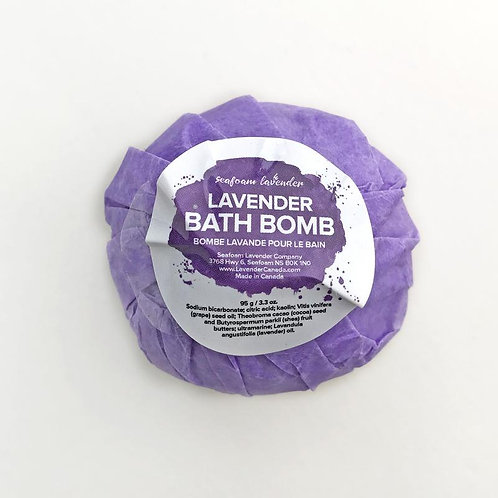 Lavender Bath Bomb  Seafoam Lavender Co.