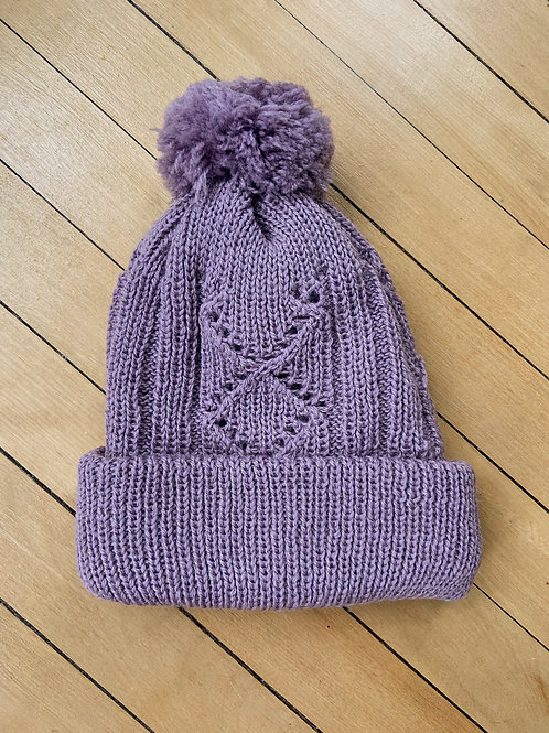Traditional Pattern Toque - Lavender   NWK