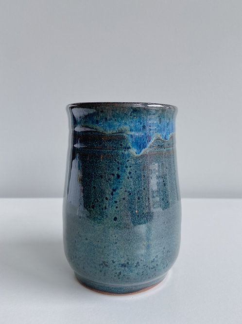 Sea Blue Tumbler | Sea Winds Pottery