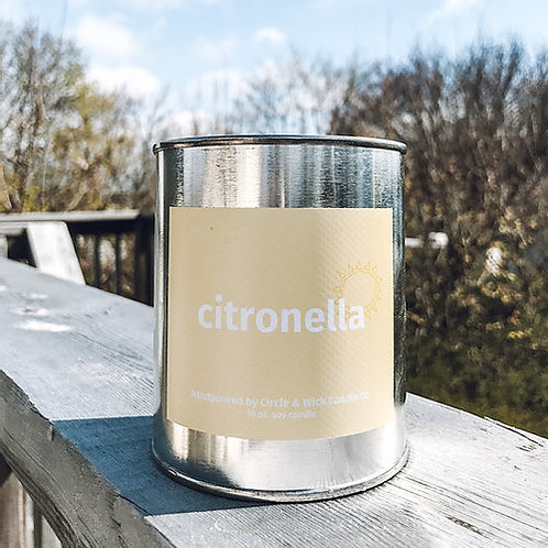 Citronella Candle | Circle & Wick Candle Co.