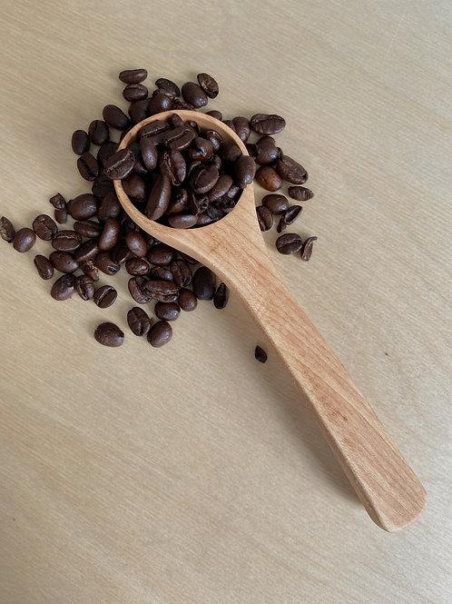 Maple Wooden Coffee Scoop   PEI Wooden Spoon Co.