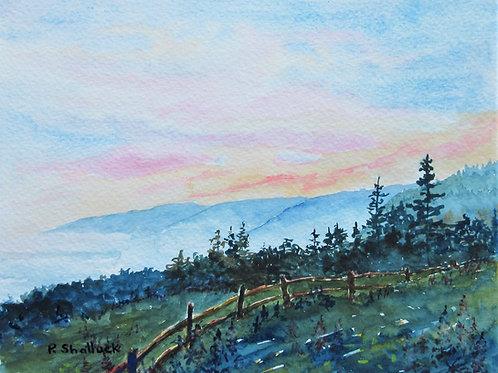 Twilight Mists- Original Painting | Pat Shattuck
