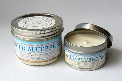 Nova Scotia Blueberry Candle | New Scotland Candle Co.