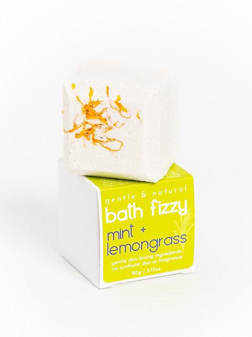 Bath Fizzy | Uplifting Mint + Lemongrass | Verv Skin