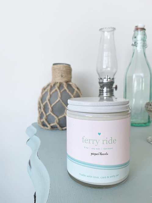 Ferry Ride Candle | Halifax Paper Hearts