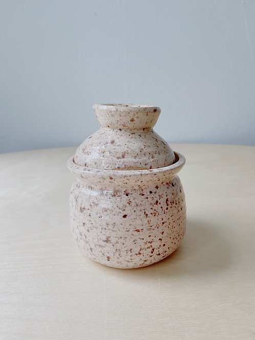 Wheat Covered Pot | Postma Pottery