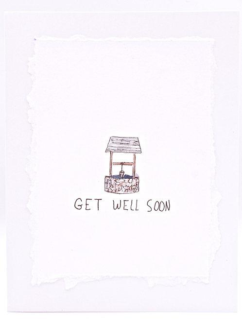 Get Well Soon- Card | Irony Arts