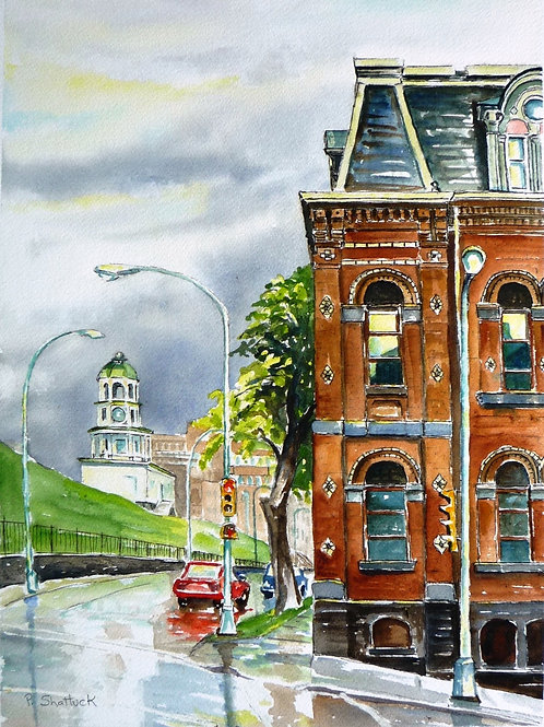 After the Rain, Brunswick St | Pat Shattuck