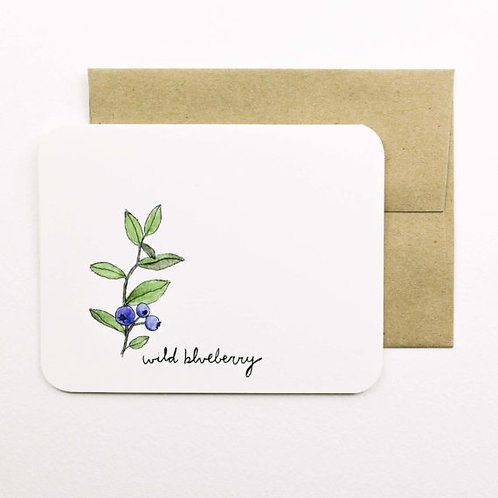Wild Blueberry Card | Field Day Paper