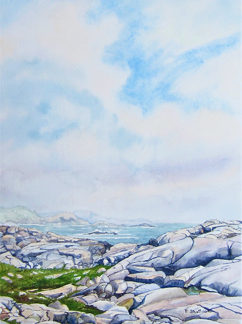 Out of  the Mist- Original Painting | Pat Shattuck