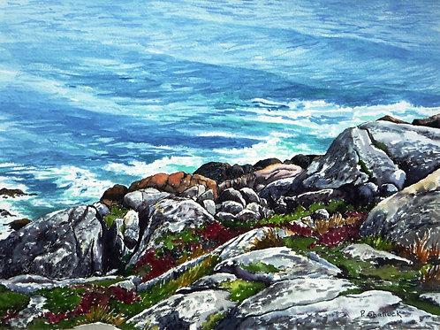 Over the Edge- Original Painting | Pat Shattuck