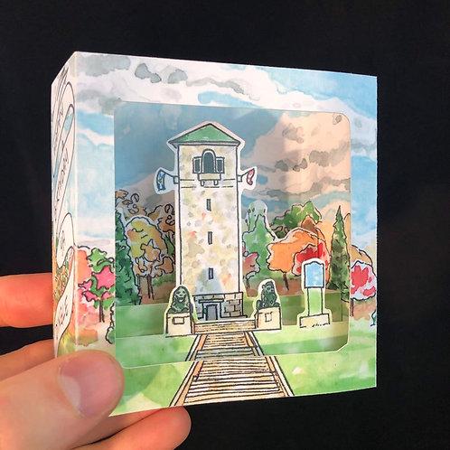 Dingle Tower Birthday Pop-Up Card | BardBardBard