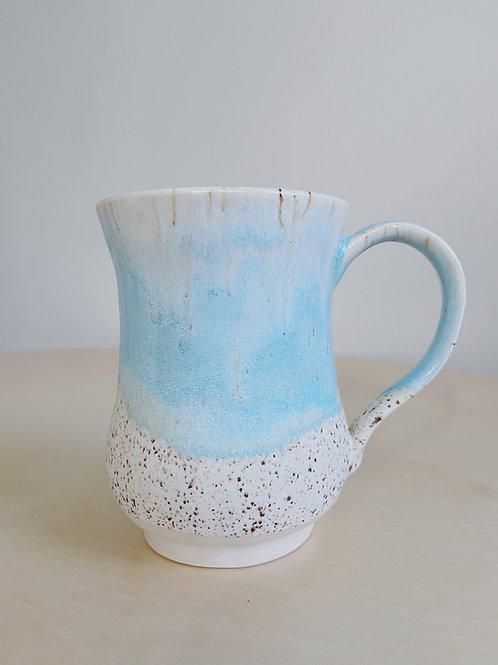 Sea + Sand Mug   Kym's Pottery Studio