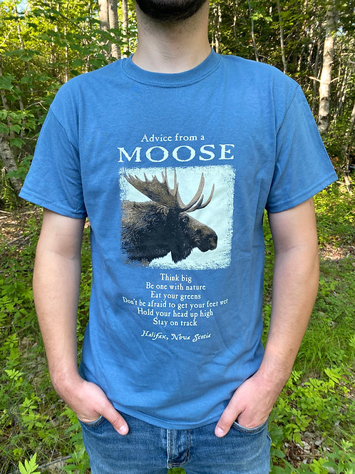 Advice From a MooseBlueT-Shirt   Tall Ships Trading Co.