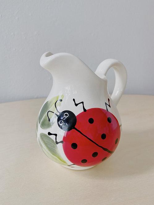 Ladybug Pitcher | LadyBug Haven Studio