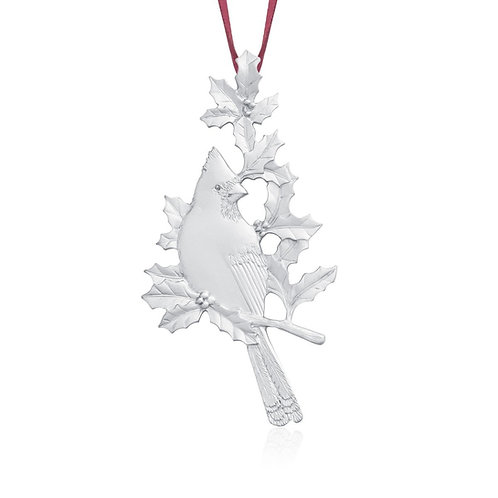 Cardinal 2016 Collector Ornament | Amos Pewter