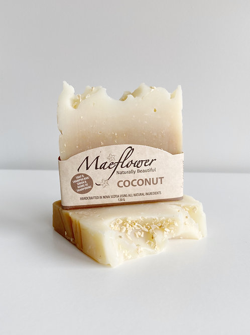 Coconut Soap | Maeflower + The Way Botanicals