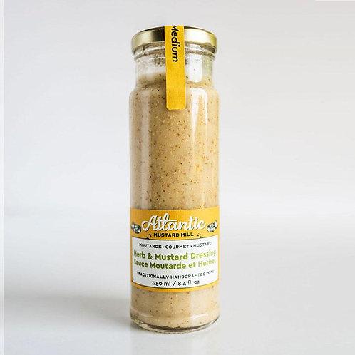Herb + Mustard Dressing   Atlantic Mustard Mill