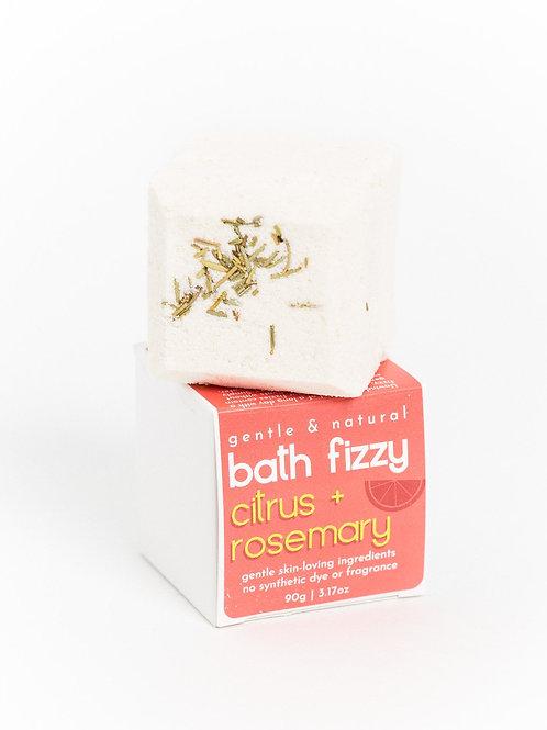 Bath Fizzy | Refreshing Citrus + Rosemary | Verv Skin