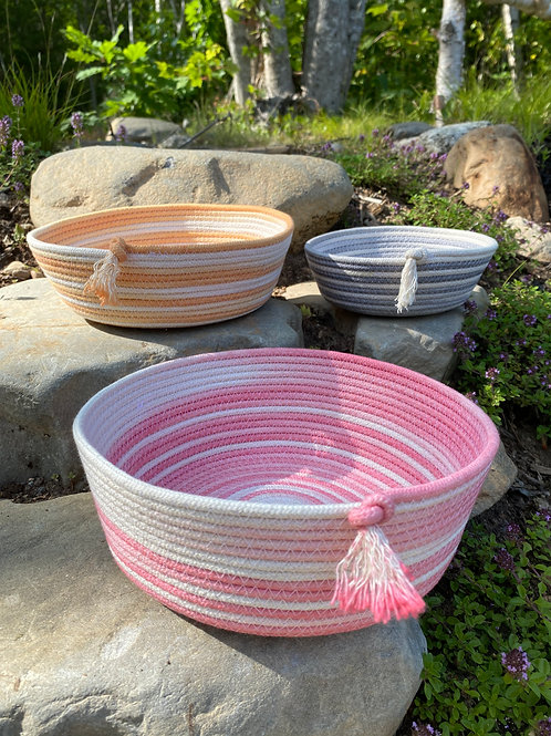 Ombre Pink Bowl   Forest Home