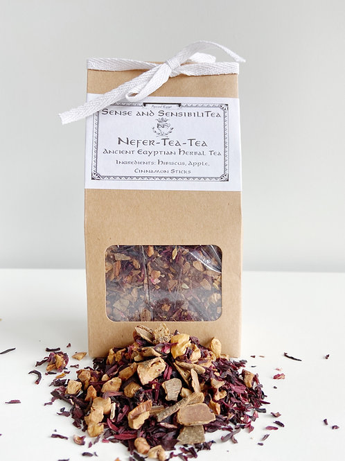 Nefer TeaTea- Ancient Egyptian Herbal Tea  | Sense + SensibiliTea